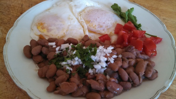 Local Huevos Rancheros