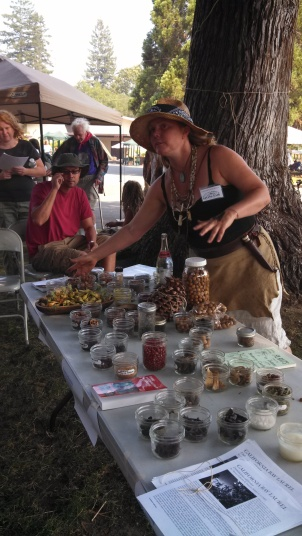 Tamara Wilder of Paleotechnics provided a wonderful guide to year-round harvesting of wild foods.