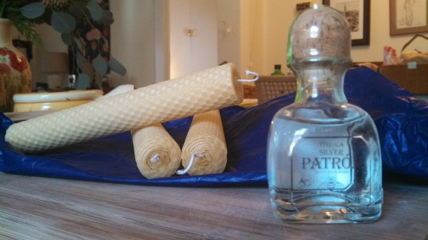 Beeswax candles & tequila!