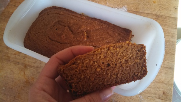 Mom's pumpkin bread